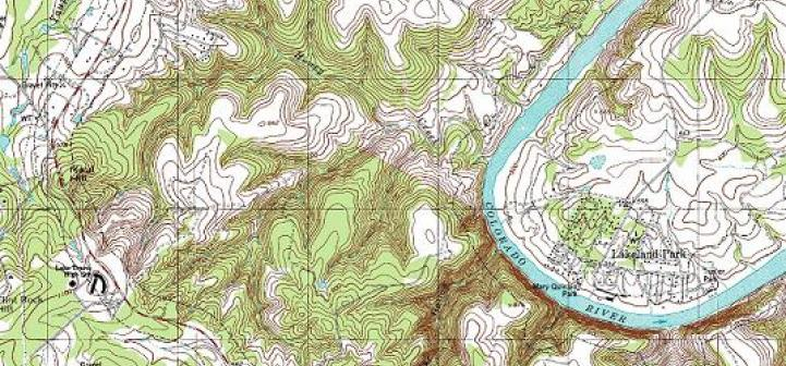 usgs topographic map