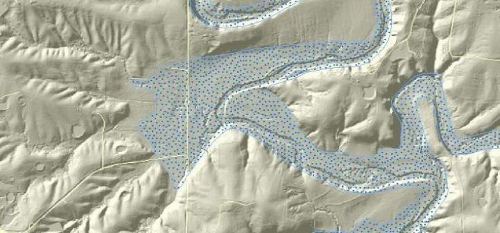 Lidar Derived Shaded Relief